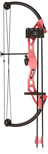 Bear Archery Brave Bow Set, Pink, Right