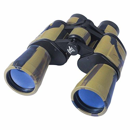 AUGYMER 8×50 Binoculars,Wide Angle Binoculars for Bird Watching Hunting Fogproof Zoom Army Ultra HD Binocular with Case(AUR720)