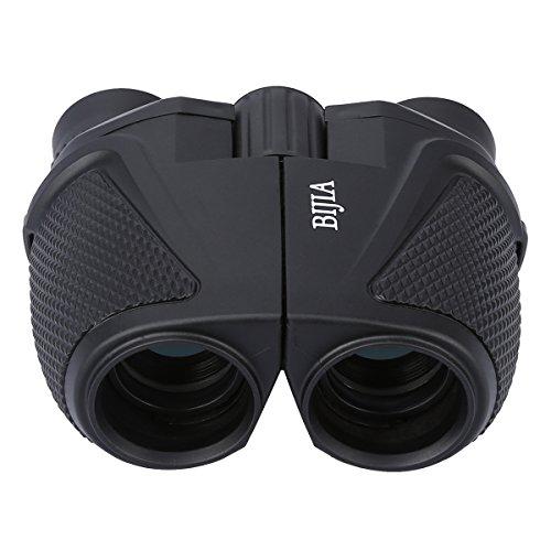 G4Free 12×25 Waterproof Binoculars(BAK4,Green Lens),Large Eyepiece Super High-Powered Field Surveillance Binoculars